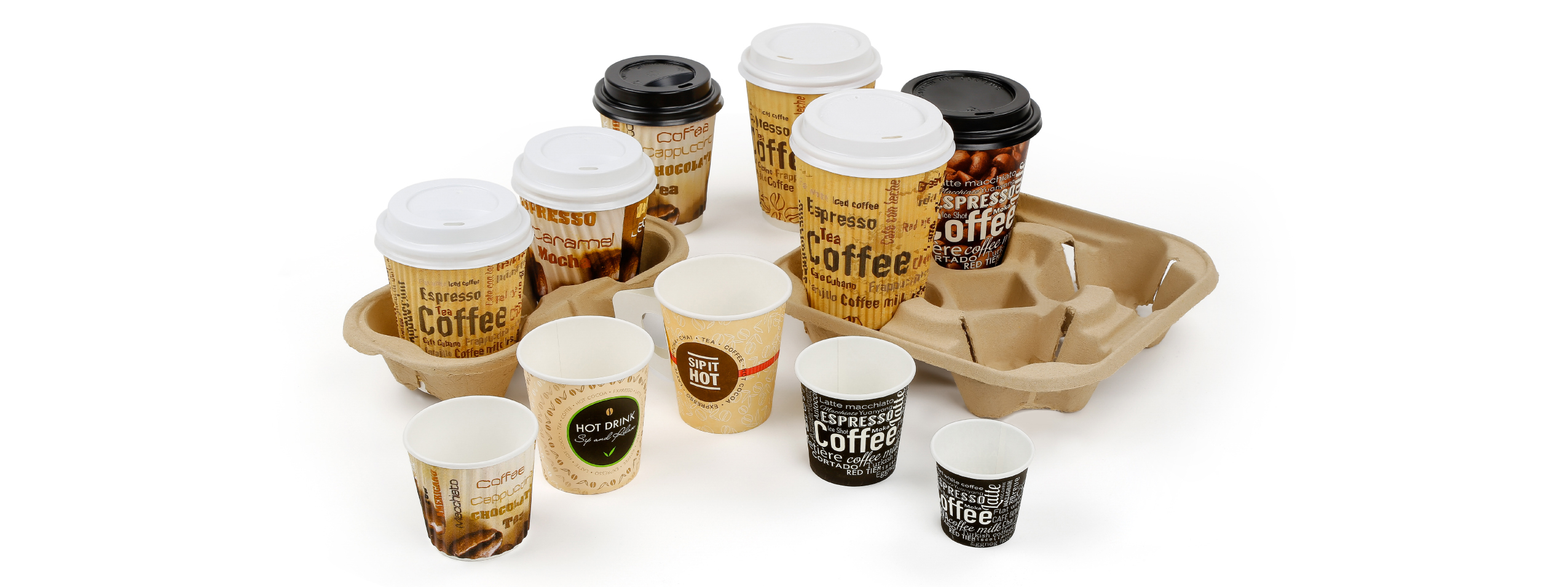 Panache has different size, different designs and best quality in paper cups